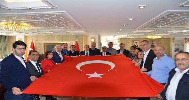 Gümüşhane STK'ları ve iş dünyasından Barış Pınarına topyekün destek