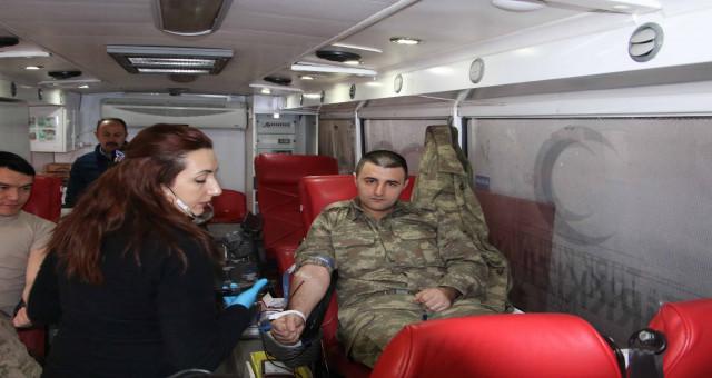 Gümüşhane İl Jandarma Komutanlığından Kan Bağışı