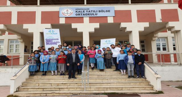 Gümüşhaneli öğrenciler  1010 kâşif arasına katıldı