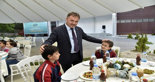 Gümüşhane Belediyesi 'Kardeşlik iftarı' düzenledi