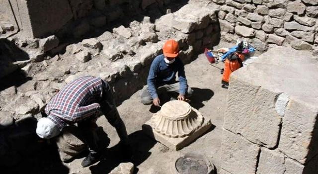 Satala Antik Kenti'nde 2 bin yıllık izlere rastlandı