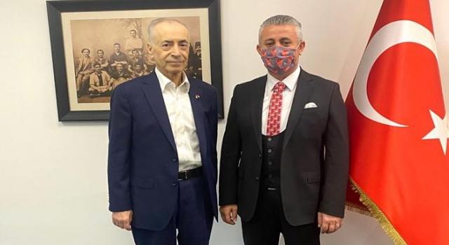 Başkan Olgun, Galatasaray Başkanı Mustafa Cengiz'i ziyaret etti