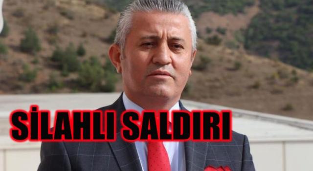 Gümüşhanespor Başkanı Vahit OLGUN'a Silahlı Saldırı
