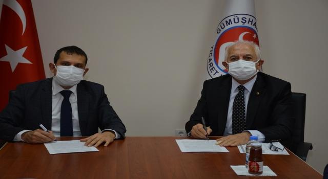 Halkbankası ile Gümüşhane Ticaret ve Sanayi Odası arasında '' 'Paraf Ticari Kredi Kartı ile Güvenceli Tedarik Zinciri Finansmanı'' protokolü imzalandı.
