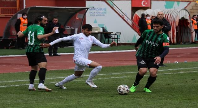 Misli.com 2. Lig Beyaz Grup'ta mücadele eden Gümüşhanespor, sahasında konuk ettiği Kocaelispor'u 1-0 mağlup etti.