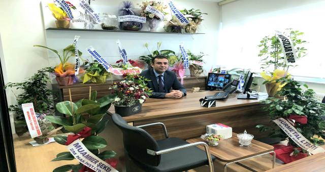 Kelkit Vakıfbank müdürü Murat Ağaç oldu