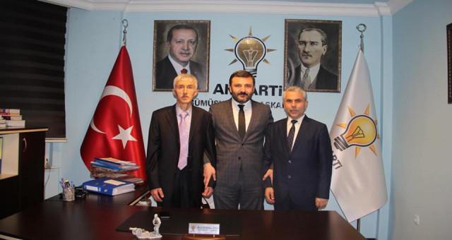 Kelkit ve Kürtün Ak Parti İlçe Başkanları Belli Oldu
