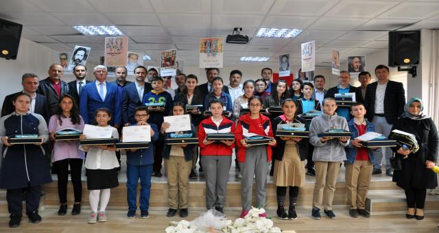 GümüşHANEler Okuyor Projesi kitap okuma yarışması ödül töreni düzenlendi