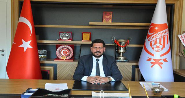 Gümüşhanespor'un Başkanı Durmuş istifa etti