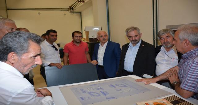 Başkan Akçay İl Genel Meclisi üyelerini Gümüşhane İŞGEM'de ağırladı