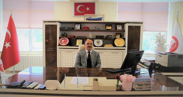 Rektör Zeybek basın bayramını kutladı