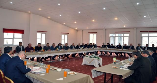 Eğitim Değerlendirme Toplantısı Yapıldı