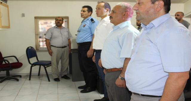 Gümüşhane Ceza İnfaz Kurumu'nda 15 Temmuz Şehitleri anıldı