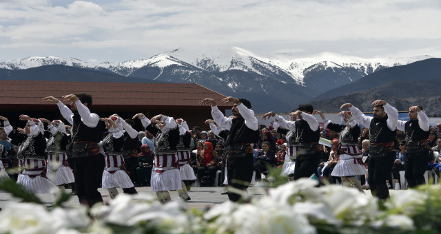 Gümüşhane'de şölen havasında Turizm Haftası kutlaması