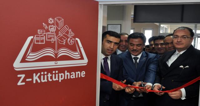 Türk Telekom Fen Lisesi'nde ve Gazipaşa Ortaokulu'nda Z-Kütüphaneler Açıldı