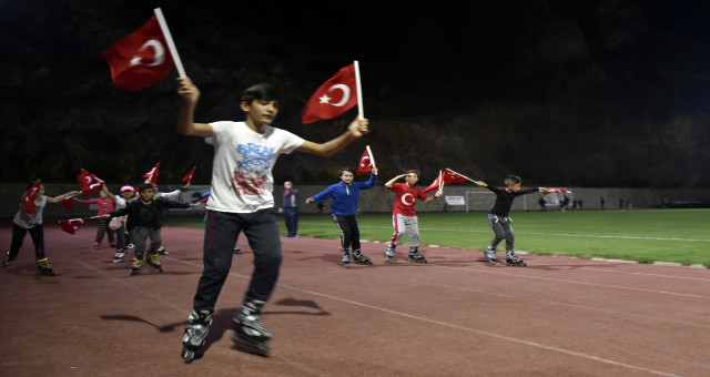 Gümüşhane'de '7'den 70'e spor etkinliği' projesi başladı