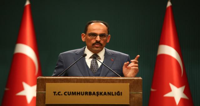 Cumhurbaşkanlığı Sözcüsü İbrahim Kalın'dan Dipsiz Göl açıklaması