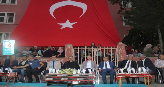 Kürtün 'de yapılan ilk kültür ve sanat festivali sona erdi