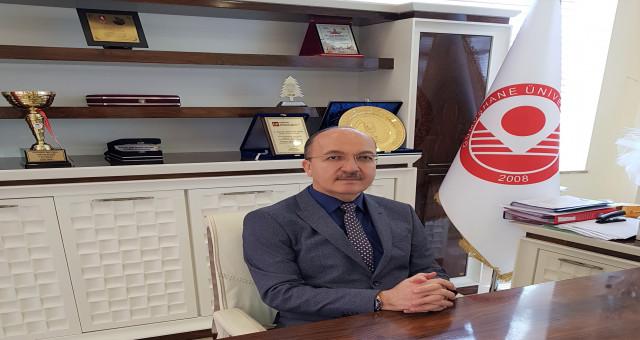 Rektör Zeybek Engelliler Haftasını kutladı