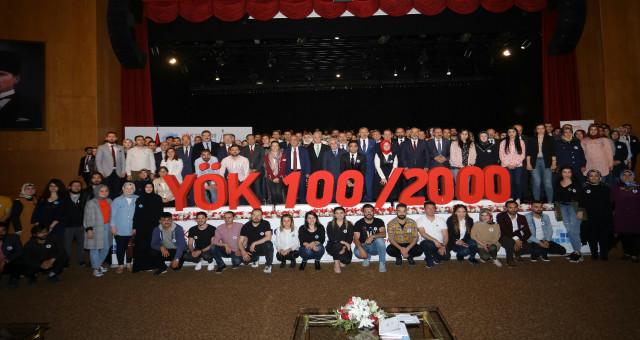 Rektör Zeybek YÖK 100/2000 Doktora Burs Programı'na katıldı