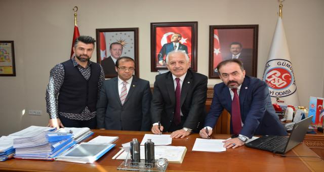 GTSO ile Gümüşhane Bahçeşehir Koleji arasında önemli protokol