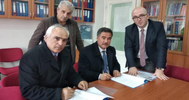 Mesleki eğitim ve sosyal işbirliği protokolü imzalandı