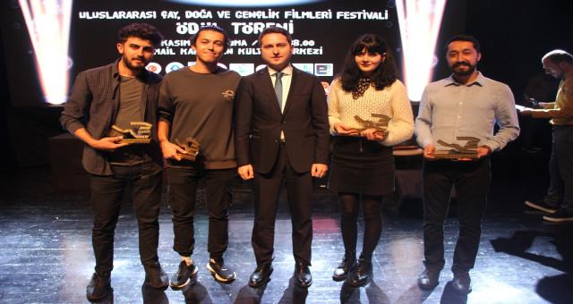 """GÜ """"Uluslararası Çay, Doğa ve Gençlik Filmleri Festivali""""nin özel davetlisiydi"""