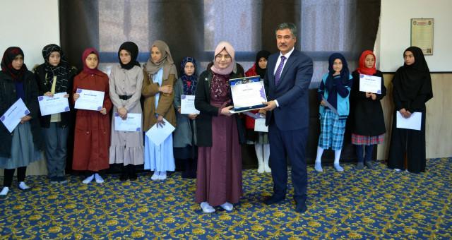 Genç Nida Kur'an-ı Kerim'i Güzel Okuma Yarışması Düzenlendi