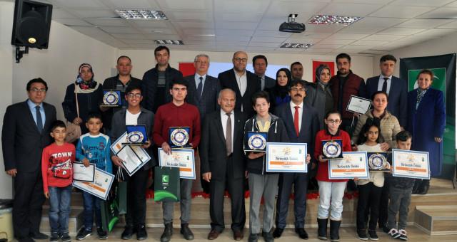 'Sağlıklı Nesil Sağlıklı Gelecek' ödül töreni gerçekleştirildi