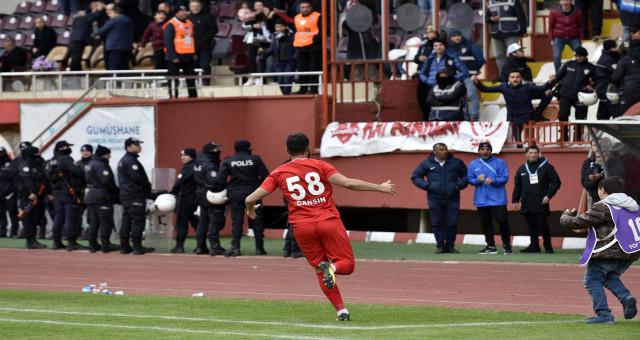 TFF 2. Lig: Gümüşhanespor: 2 - Ankara Demirspor: 2