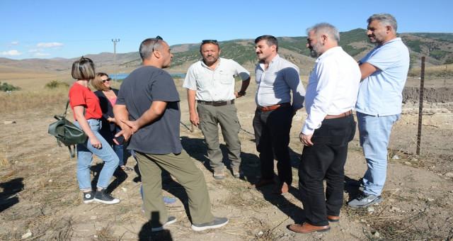 İl Genel Meclisi Başkanımız Sayın Mehmet Emin Erdoğdu  Satala Antik Kentinde İncelemelerde Bulundu