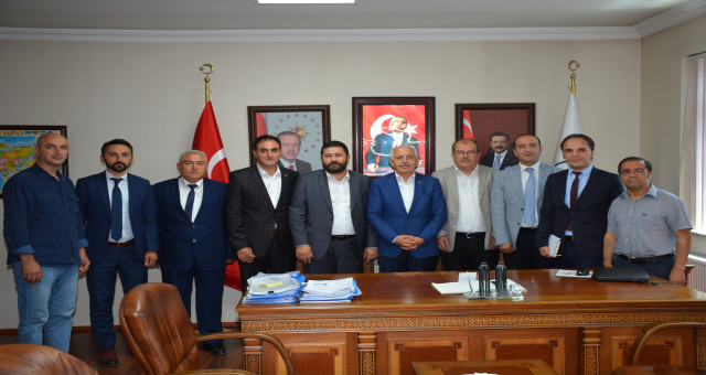 Kalkınma Ajansları Genel Müdürü Barış Yeniçeri ve beraberindeki heyetten GTSO'ya ziyaret