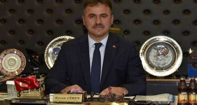 Gümüşhane Belediye Başkanı Ercan Çimen Mazbatasını Aldı