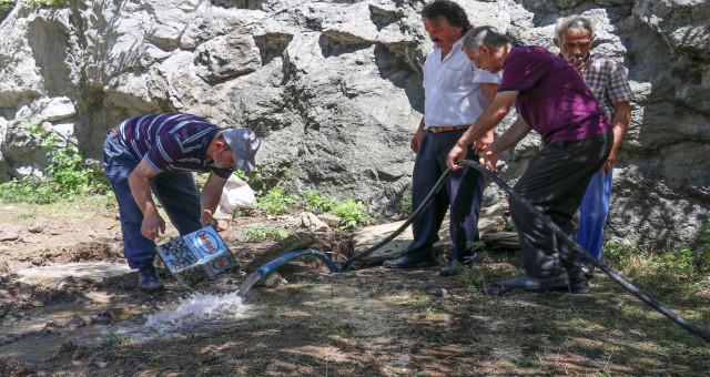 Gümüşhane'deki ishal salgının sebebi sondaj kuyusu çıktı
