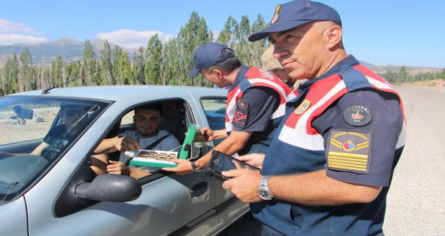 Jandarma Ekiplerinin Bayram Denetimleri