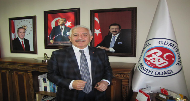 GTSO Başkanı İsmail Akçay: ''Ülkemizin istiklalinde ve istikbalinde var olan bir Gümüşhaneyiz''