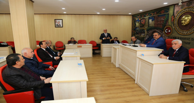 Gümüşhane İl Genel Meclisi'nin Mart ayı toplantıları sona erdi