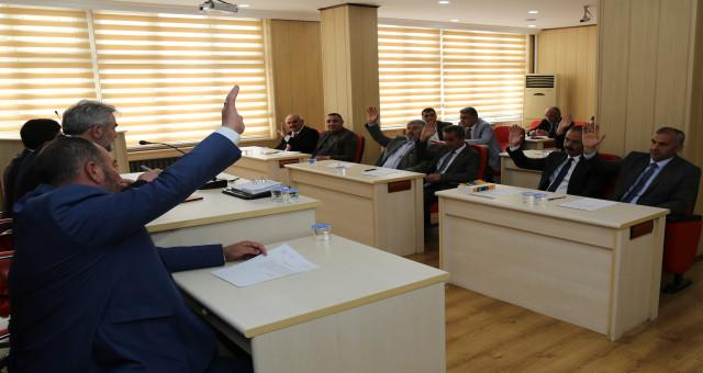 Gümüşhane İl Genel Meclisi'nin Mayıs ayı toplantıları başladı