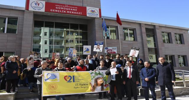 Gümüşhane'de Dünya Down Sendromu Günü yürüyüşü
