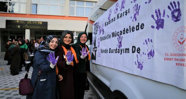 Kadına yönelik şiddet Gümüşhane Üniversitesinde anlatıldı