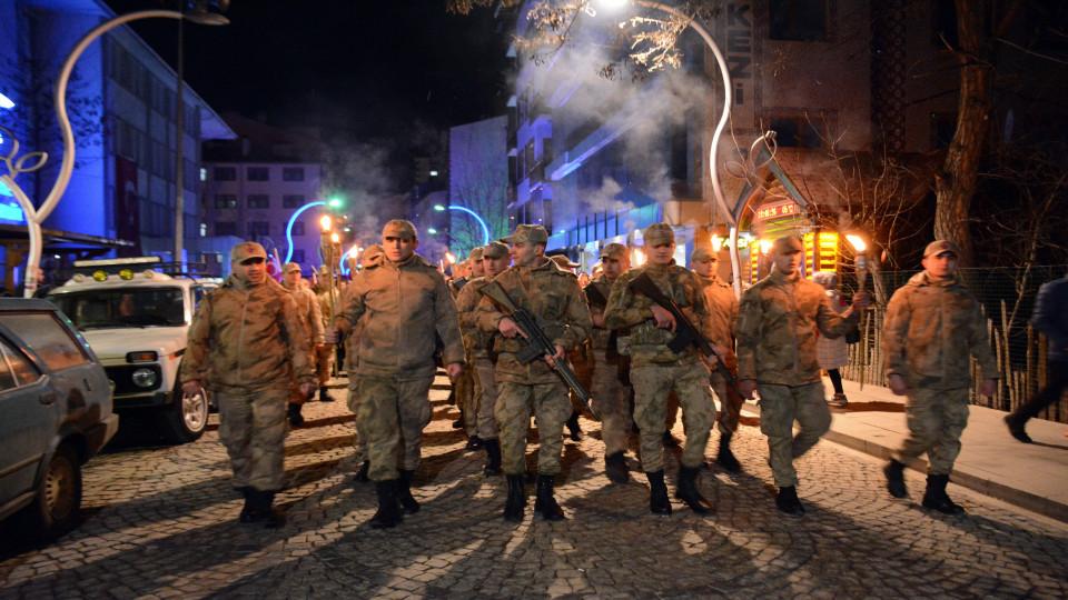 Gümüşhane'nin düşman işgalinden kurtuluş yıldönümü etkinlikleri tamamlandı