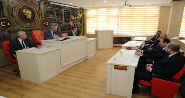 İl Genel Meclisinden ilk ziyaret Vali Taşbilek'e