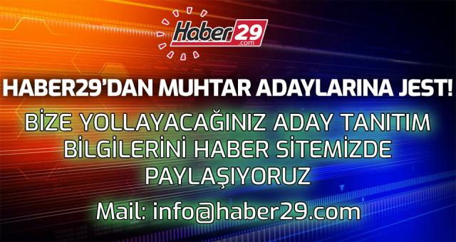 Haber29.com'dan Muhtar Adaylarına Jest