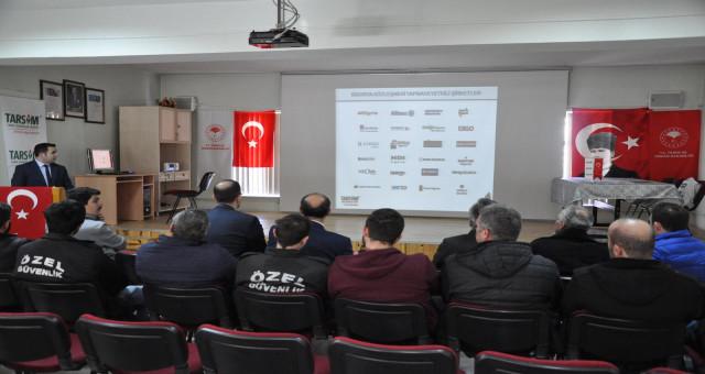 Torul ve Kürtün 'de Tarsim Bilgilendirme Toplantısı Yapıldı