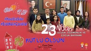 """Gümüşhane Belediye Başkanı Ercan ÇİMEN """"23 Nisan Ulusal Egemenlik Ve Çocuk Bayramı"""" nedeniyle mesaj yayımladı"""