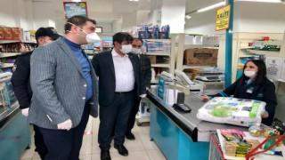 Torul Kaymakamı Ömer Said Karakaş ve Belediye Başkanı Evren Evrim Özdemir Marketleri Denetledi