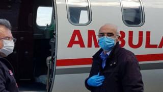 Ambulans Uçak Gümüşhaneli Hasan Pala için Havalandı