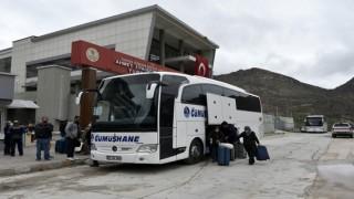 Belçika'dan getirilen 245 kişi memleketlerine gönderildi