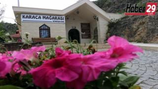 Karaca Mağarasında Korona virüs tedbirleri alınarak ziyaretçi kabulüne başlandı