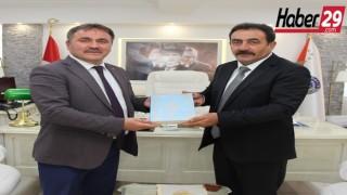 Belediye Başkanı Ercan ÇİNEM'den Emniyet Müdürüne Hayırlı Olsun Ziyareti